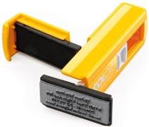 COLOP Pocket Stamp Plus zsebbélyegző készítés